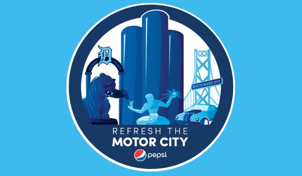 Pepsi Mega City Logo